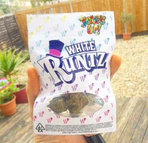 Buy White Runtz online.White Runtz is an uncommon strain to discover, so it is known have high potency with respect to its THC and CBD content.